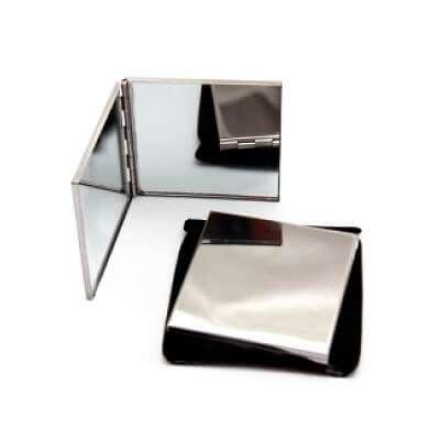 Espejo de Cartera Metálico