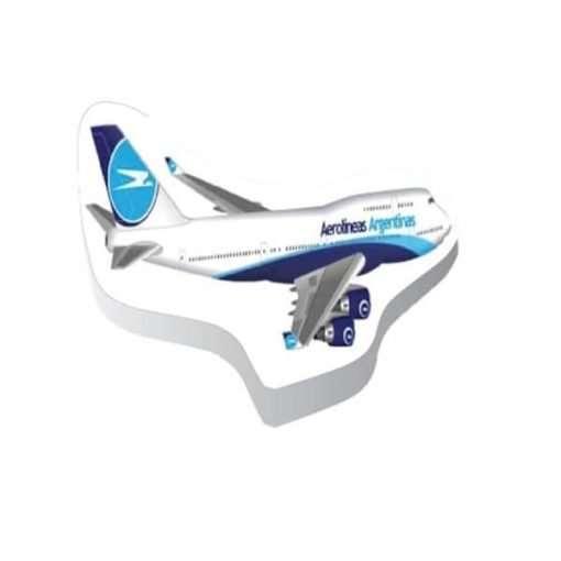 Toalla Compactada Avión