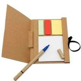 Note Pad Ecológico con bolígrafo