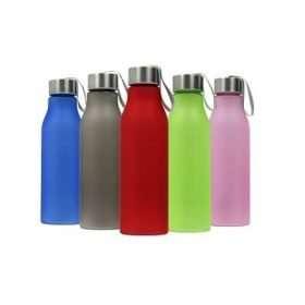 Botella Plástica Esmerilada