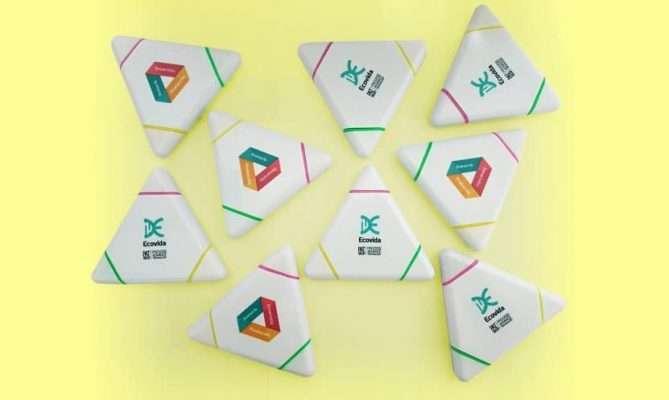 Resaltador Triángulo EcoVida