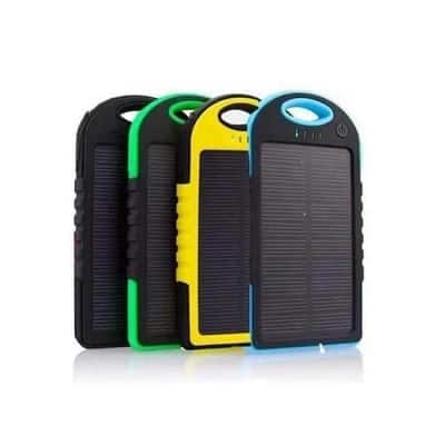 Power Bank Solar con logo